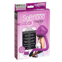 Hair Flair Deluxe SoftHood Hair Dryer Attachment - Pink