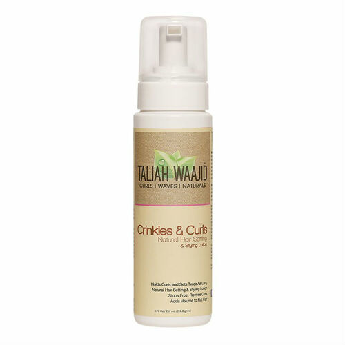 Taliah Waajid Curls, Waves & Naturals Crinkles & Curls Natural Hair Setting & Styling Lotion (8 oz.)