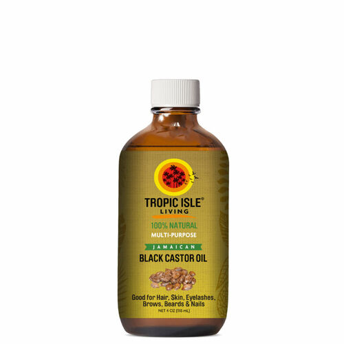 Tropic Isle Living Jamaican Black Castor Oil (4 oz.)