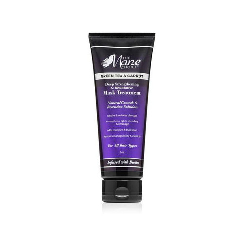 The Mane Choice Green Tea & Carrot Deep Strengthening & Restorative Mask Treatment (8 oz.)