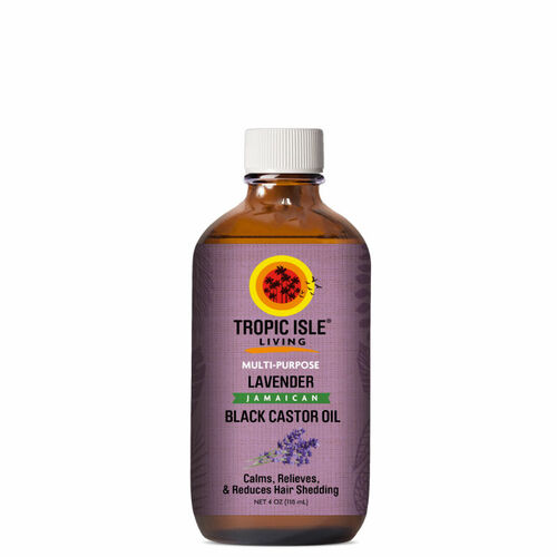 Tropic Isle Living Lavender Jamaican Black Castor Oil (4 oz.)