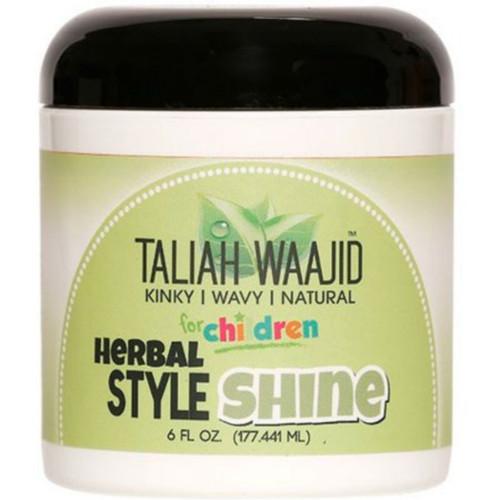 Taliah Waajid Kinky, Wavy & Natural for Children Herbal Style & Shine (6 oz.)