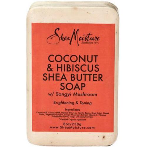 SheaMoisture Coconut & Hibiscus Shea Butter Soap Bar (8 oz.)