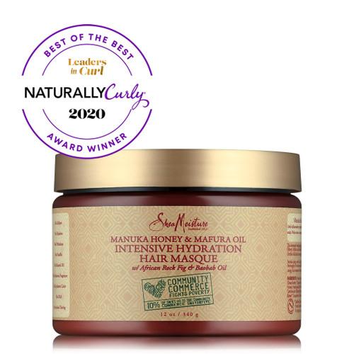 SheaMoisture Manuka Honey & Mafura Oil Intensive Hydration Hair Masque (12 oz.)