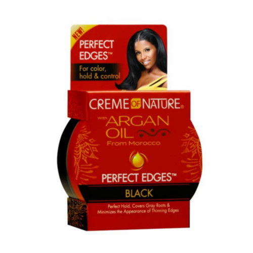 Creme Of Nature Argan Oil Black Perfect Edges (2.25 oz.)