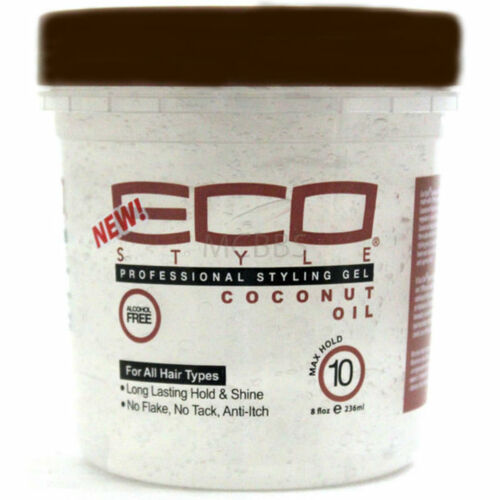 Ecoco Eco Style Professional Styling Gel Coconut Oil (8 oz.)