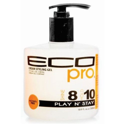 Ecoco Eco Pro Cream Styling Gel Play N' Stay (16.9 oz.)