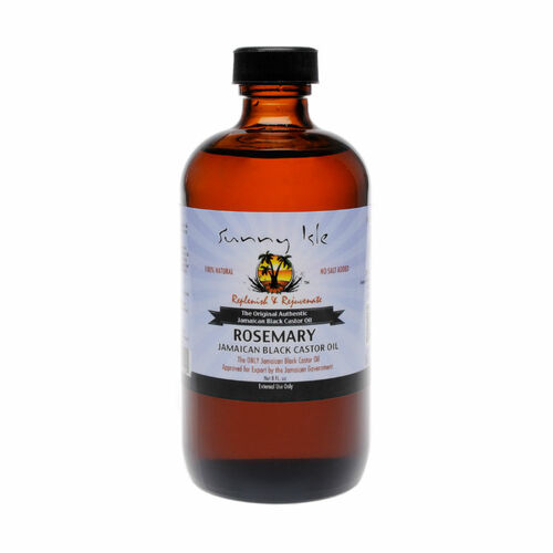 Sunny Isle Rosemary Jamaican Black Castor Oil (8 oz.)