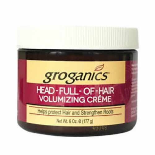 Groganics Head Full of Hair Volumizing Creme (6 oz.)