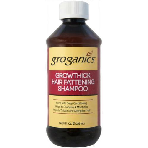 Groganics Growthick Hair Fattening Shampoo (8 oz.)