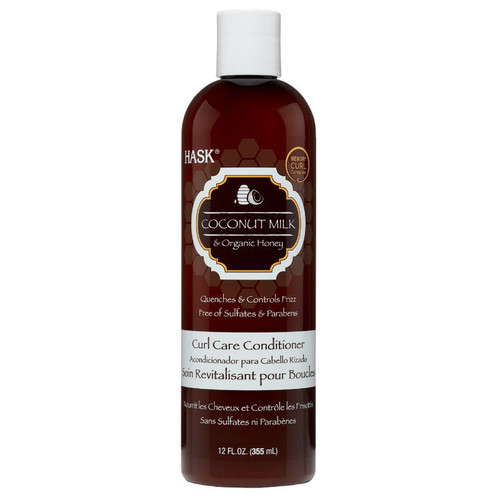 HASK Coconut Milk & Organic Honey Curl Care Conditioner (12 oz.)