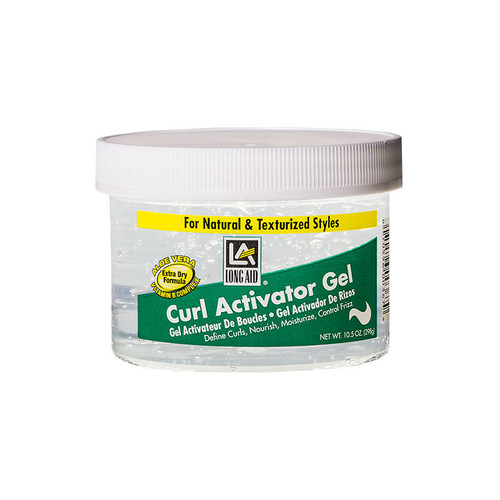 LONG AID Curl Activator Gel for Extra Dry Hair (10.5 oz.)