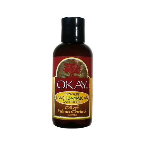 OKAY Pure Naturals Pure Black Jamaican Castor Oil (4 oz.)