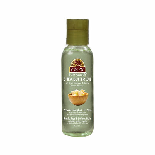 OKAY Pure Naturals Shea Butter Oil for Hair and Skin (2 oz.)