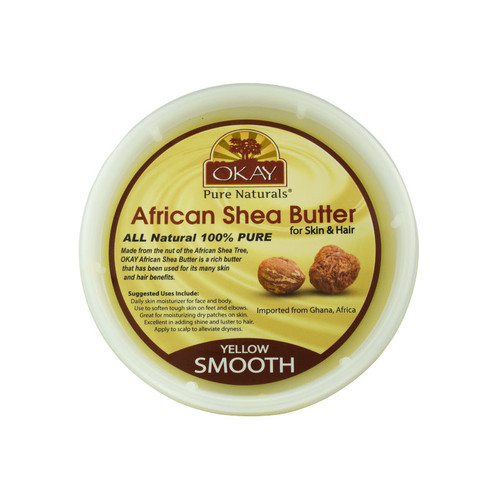 OKAY Pure Naturals Yellow Smooth African Shea Butter (8 oz.)