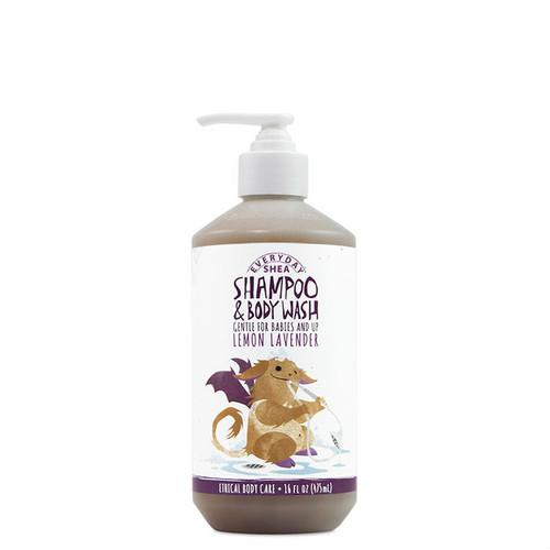 Everyday Shea Babies & Up Shampoo & Body Wash - Lemon Lavender (16 oz.)