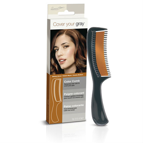 Cover Your Gray Color Comb Medium Brown (0.33 oz.)