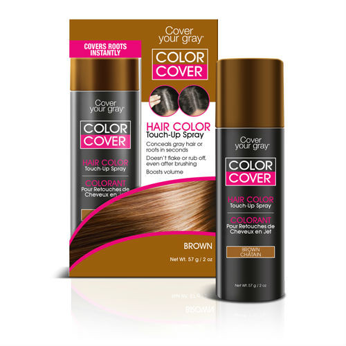 Cover Your Gray Color Cover Spray Brown (2 oz.)