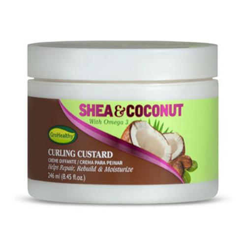 GroHealthy Shea & Coconut Curling Custard (8.45 oz.)