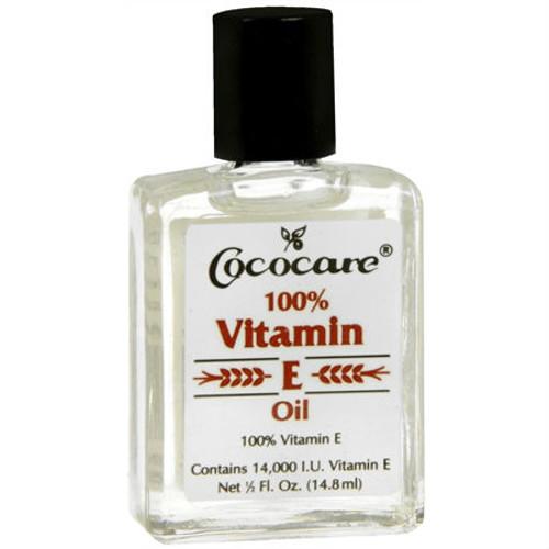 Cococare 100% Vitamin E Oil (0.5 oz.)
