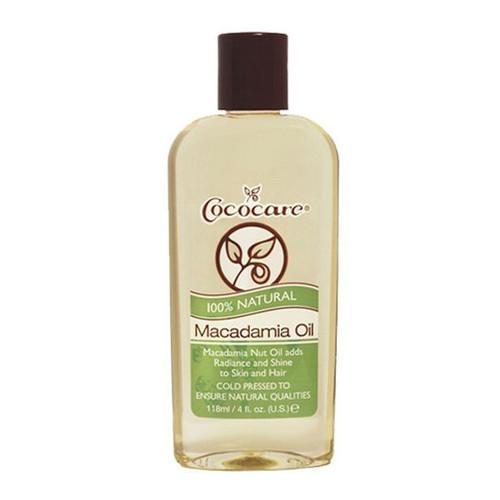Cococare 100% Natural Macadamia Oil (4 oz.)