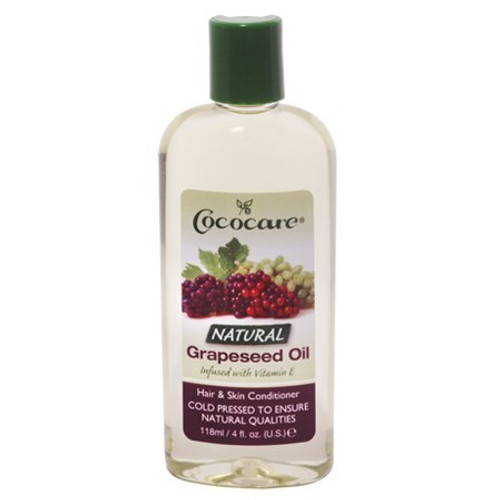 Cococare Natural Grapeseed Oil (4 oz.)