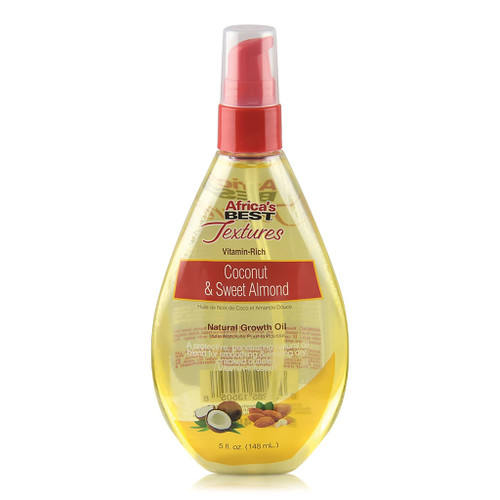 Africa's Best Textures Coconut & Sweet Almond Oil Natural Growth Oil (5 oz.)