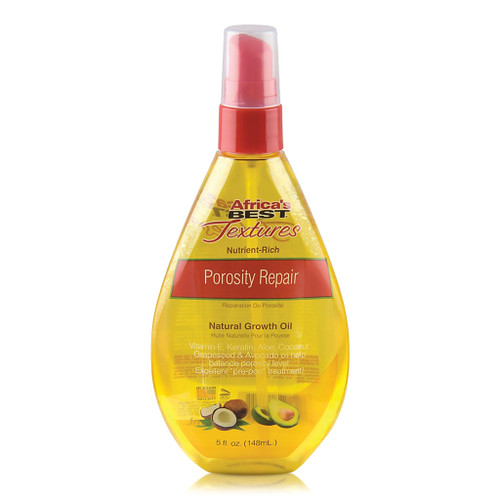 Africa's Best Textures Nutrient-Rich Porosity Repair Natural Growth Oil (5 oz.)