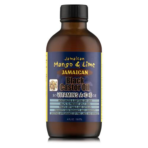 Jamaican Mango & Lime Jamaican Black Castor Oil Vitamins A D & E (4 oz.)