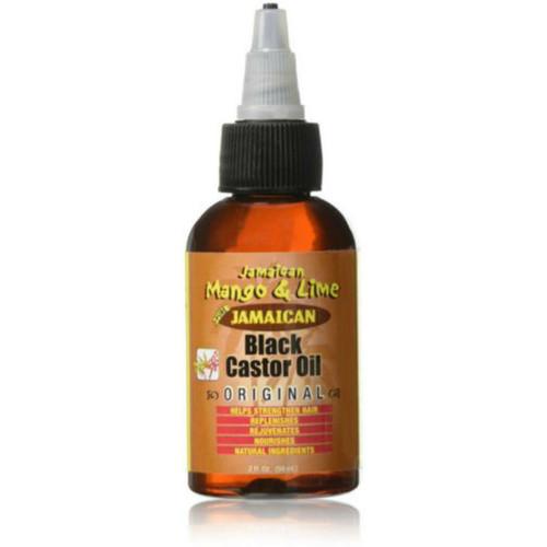 Jamaican Mango & Lime Jamaican Black Castor Oil Original (2 oz.)
