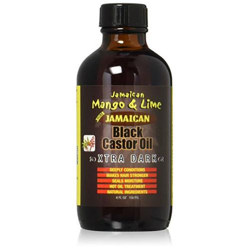Jamaican Mango & Lime Jamaican Black Castor Oil Xtra Dark (4 oz.)