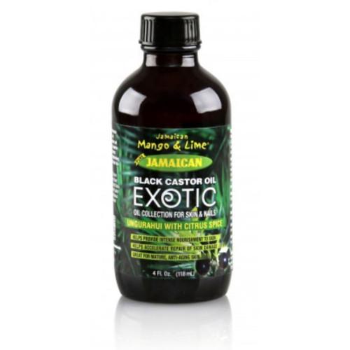 Jamaican Mango & Lime Jamaican Black Castor Oil Exotic Ungurahui with Citrus Spice (4 oz.)