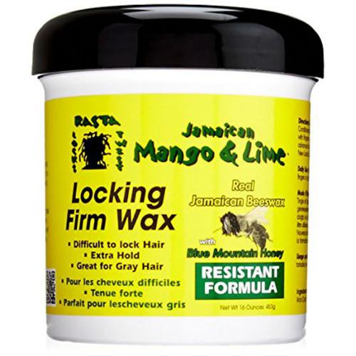 Jamaican Mango & Lime Locking Firm Wax - Resistant Formula (16 oz.)