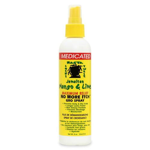 Jamaican Mango & Lime No More Itch Gro Spray Maximum Relief (8 oz.)