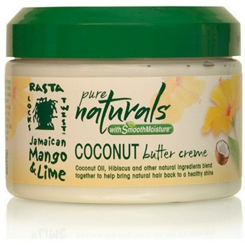 Jamaican Mango & Lime Pure Naturals with Smooth Moisture Coconut Butter Creme (12 oz.)