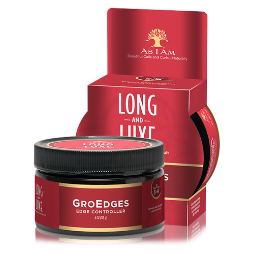 As I Am Long and Luxe GroEdges Edge Controller (4 oz.)