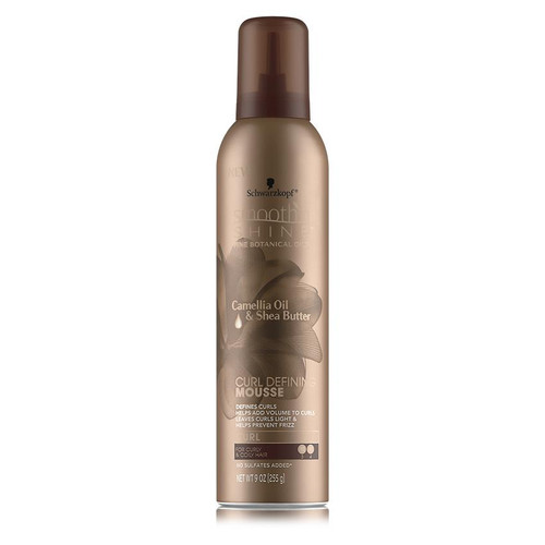 Smooth 'n Shine Curl Defining Mousse (9 oz.)