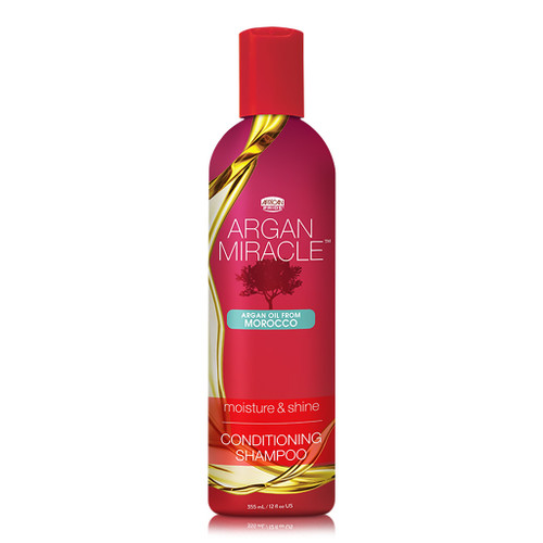 African Pride Argan Miracle Moisture & Shine Conditioning Shampoo (12 oz.)