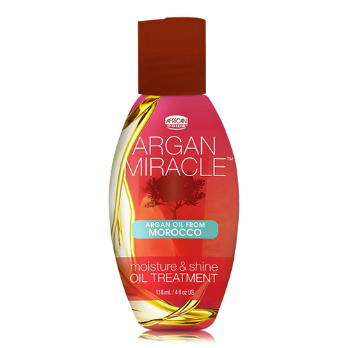 African Pride Argan Miracle Moisture & Shine Oil Treatment (4 oz.)