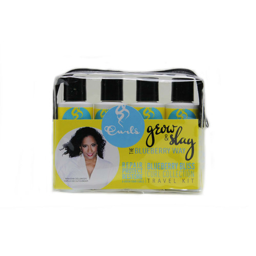 CURLS Blueberry Bliss Curl Collection Travel Kit