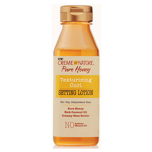Creme of Nature Pure Honey Texturizing Curl Setting Lotion (12 oz.)