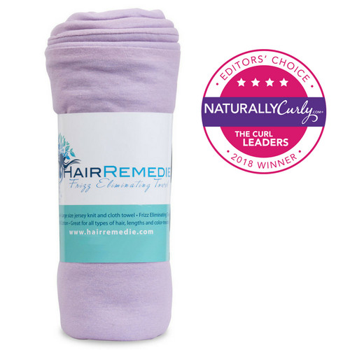 Hair Remedie Frizz Eliminating Towel - Lavender