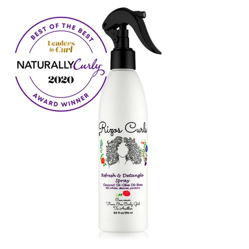 Rizos Curls Refresh & Detangle Spray (10 oz)