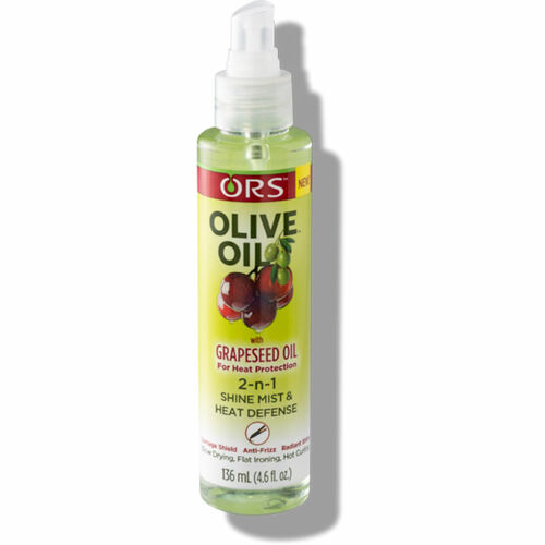 ORS Olive Oil with Grapeseed Oil 2-n-1 Shine Mist & Heat Defense (4.6 oz.)