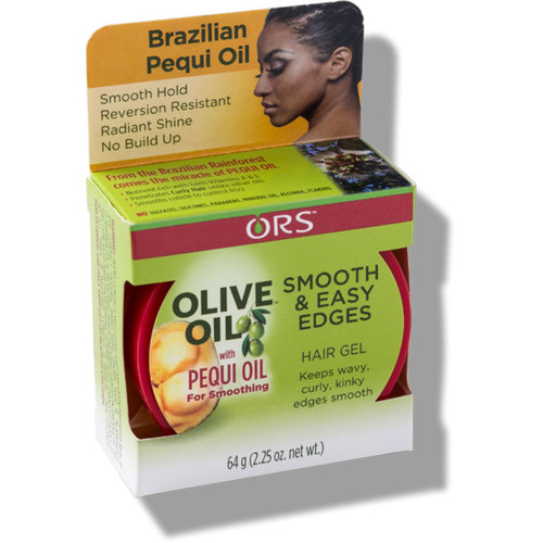 ORS Olive Oil with Pequi Oil Smooth & Easy Edges Hair Gel (2.25 oz.)