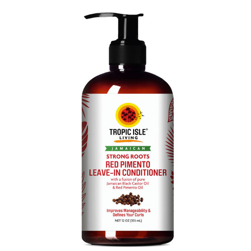 Tropic Isle Living Jamaican Strong Roots Red Pimento Leave-In Conditioner (12 oz.)