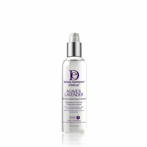 Design Essentials Agave & Lavender Weightless Thermal Protectant Serum (4 oz.)