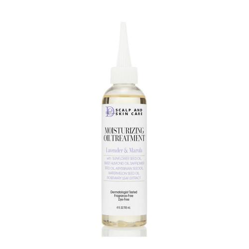 Design Essentials Scalp & Skin Care Moisturizing Oil Treatment with Lavender & Marula (4 oz.)