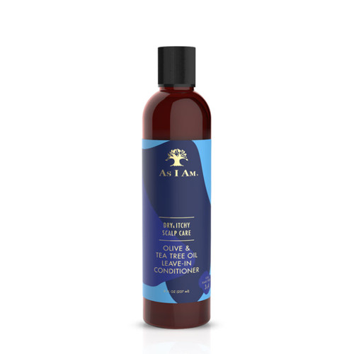 As I Am Dry & Itchy Scalp Care Olive & Tea Tree Oil Leave-In Conditioner (8 oz.)