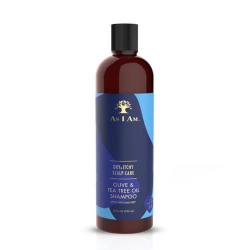 As I Am Dry & Itchy Scalp Care Olive & Tea Tree Oil Shampoo (12 oz.)